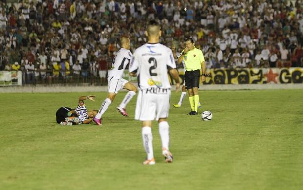 treze, botafogo-pb, final, campeonato paraibano (Foto: Kleide Teixeira / Jornal da Paraíba)