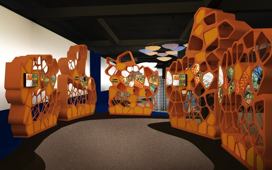 Parte da exposição Inovanças no Museu do Amanhã (Foto: divulgação - Museu do Amanhã)