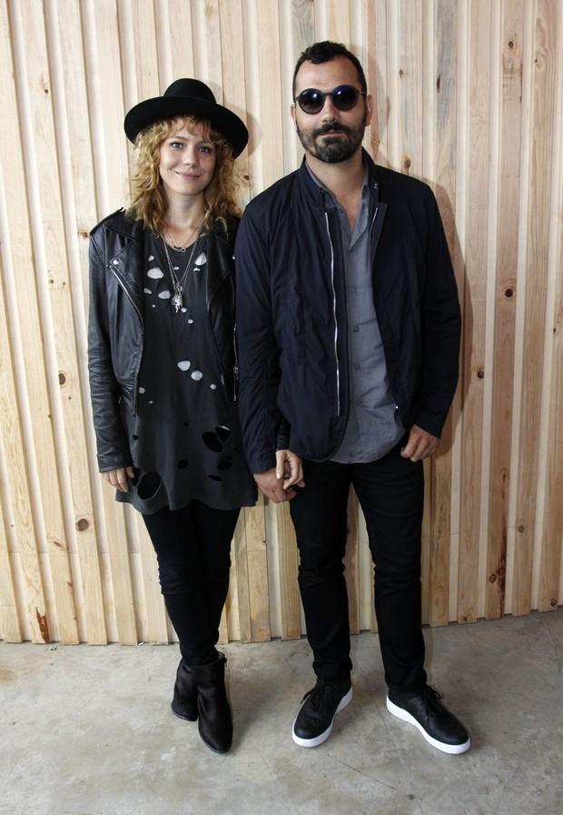 Leandra Leal e Ale Youssef (Foto: Celso Tavares / EGO)
