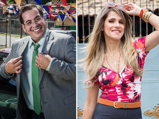 Ingrid Guimarães e Leandro Hassum vivem casal em novo seriado (Foto: Renato Rocha Miranda / Tatá Barreto / TV Globo)