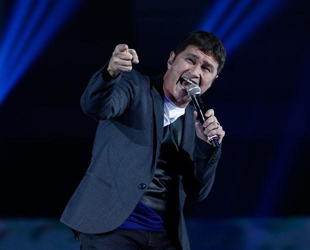 Roupa Nova tocou no palco do especial (Foto: Raphael Dias / Gshow)