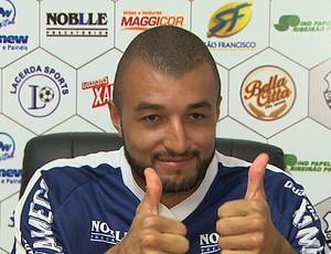 Alex Santana, goleiro do Comercial (Foto: Reprodução EPTV)