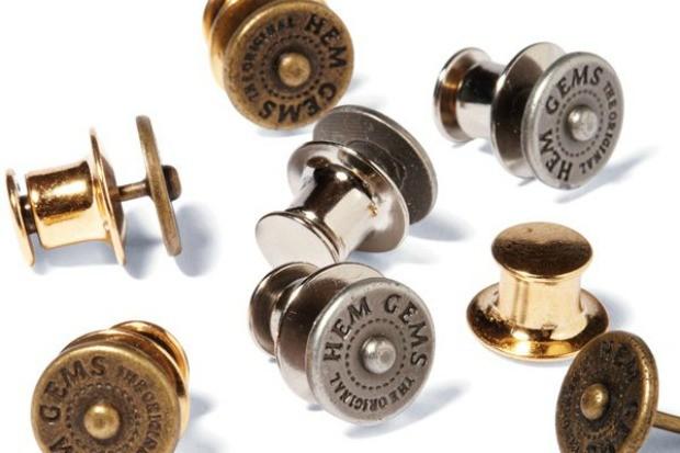 Alfinetes de cala podem ser colocados e removidos instantneamente (Foto: Divulgao/ Hem Gems)