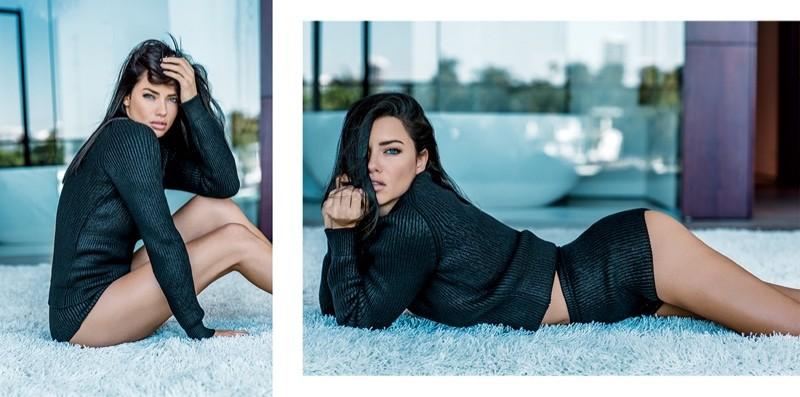 Adriana Lima mostra sua beleza em ensaio sexy by Russell James (Foto:  )