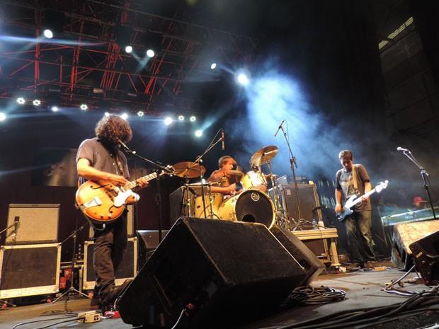Grupo estava há 14 anos sem gravar quando lançou o Secret EP, ano passado (Foto: Katherine Coutinho / G1)
