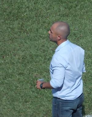 Rafael Guanaes, técnico do São Carlos (Foto: Divulgação/São Carlos FL)