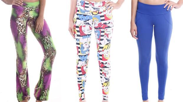 As calças legging da marca mineira ficaram populares - principalmente por causa da irmãs Kardashian (Foto: Divulgação)