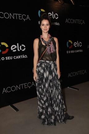 Nathalia Dill em show na Zona Oeste do Rio (Foto: Wallace Barbosa/ Ag. News)