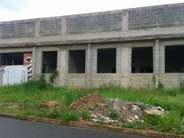 Construção do Centro do Idoso em Saltinho (Foto: Eduardo Montebello/ Arquivo pessoal)