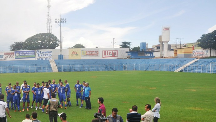 Estádio Anníbal Batista de Toledo (Foto: Guilherme Gonçalves/GloboEsporte.com)