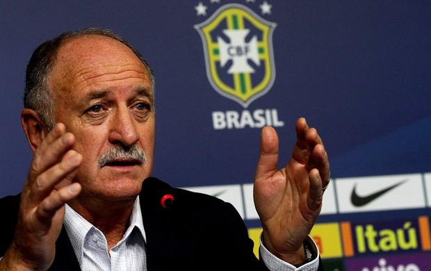 Luiz Felipe Scolari felipão brasil coletiva  (Foto: Marlon Falcão / Vipcomm)