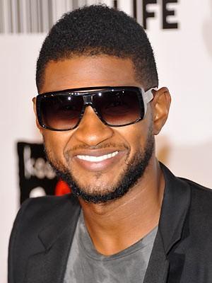 O cantor de R&B Usher (Foto: AP)