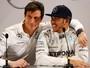 """Wolff diz que apesar de adversidades, Lewis age como """"verdadeiro campeão"""""""