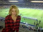 Shakira assiste à vitória do Barcelona de Gerard Piqué