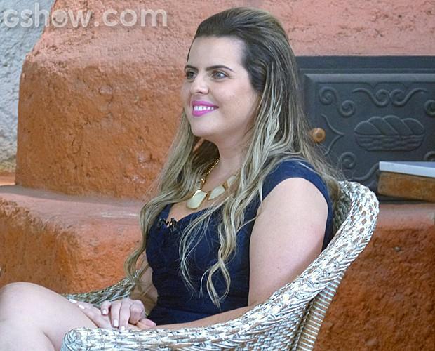 Fernanda escolhe tema caipira e tenta a segunda chance no 'Jogo de Panelas' (Foto: Mais Você/TV Globo)