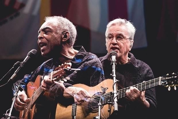Gilberto Gil e Caetano Veloso (Foto: Reprodução/Instagram)