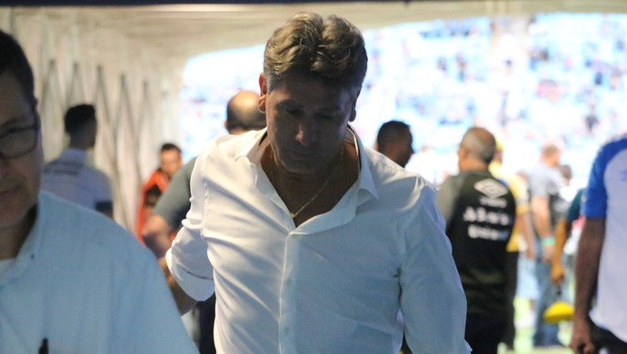 Renato Gaúcho técnico Grêmio (Foto: Beto Azambuja / GloboEsporte.com)