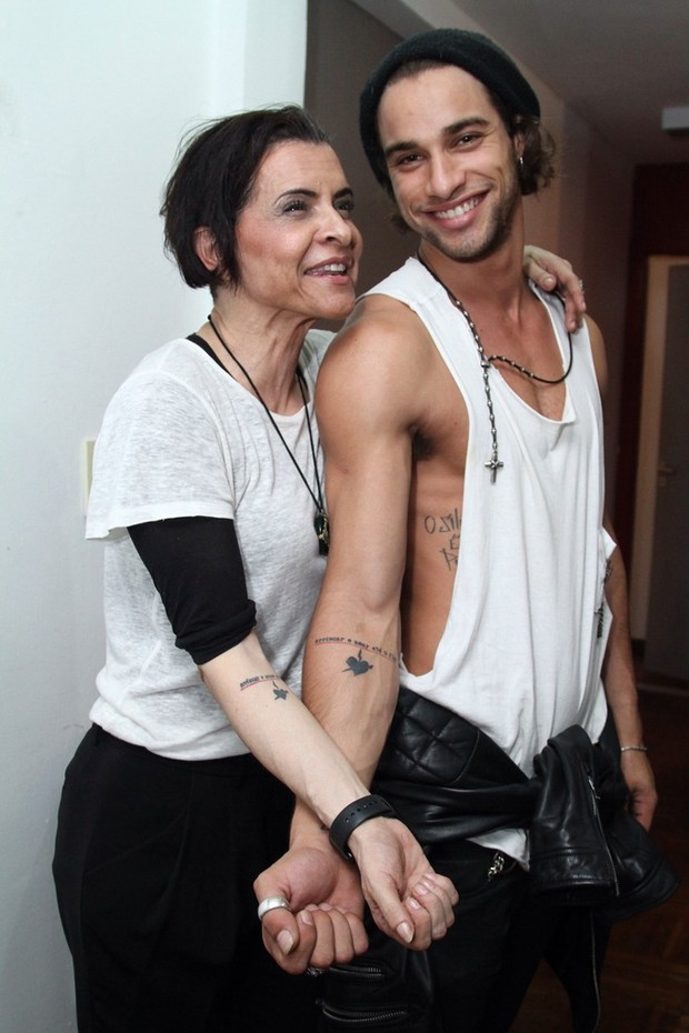 Marina Lima e Pablo Morais (Foto: Anderson Borde/Agnews)