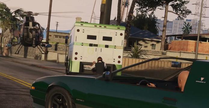 Roube carros fortes para ganhar dinheiro no GTA V (Foto: Divulgação/Rockstar)
