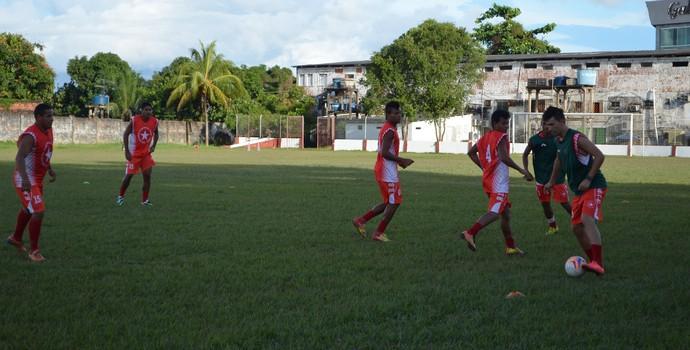 Rio Branco se prepara para encarar o Vasco-AC, no CT José de Mello. (Foto: Murilo Lima)