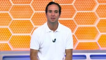 Caio Ribeiro, Ronaldo Mendes e Mike comentam partida e gols do primeiro jogo da final (TV Globo)