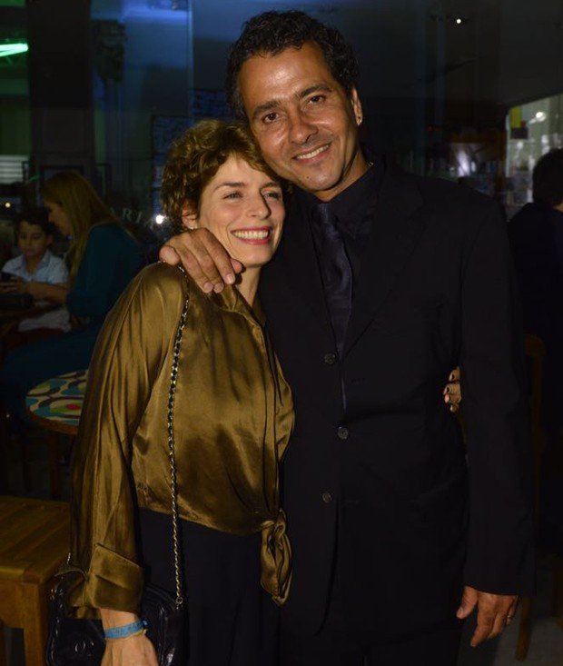 Marcos Palmeira e a mulher, a diretora Gabriela Gastal (Foto: Fabio Cordeiro/Ed. Globo)