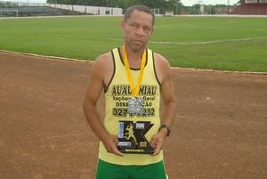 Jura, atleta de Presidente Venceslau (Foto: Divulgação / Sert Presidente Venceslau)