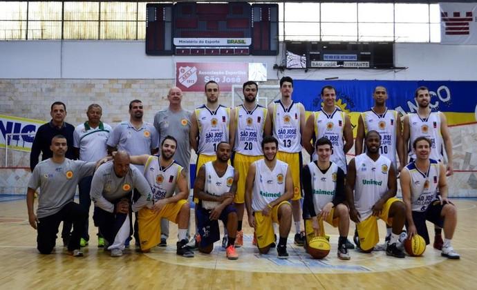 São José Basquete (Foto: Danilo Sardinha/GloboEsporte.com)