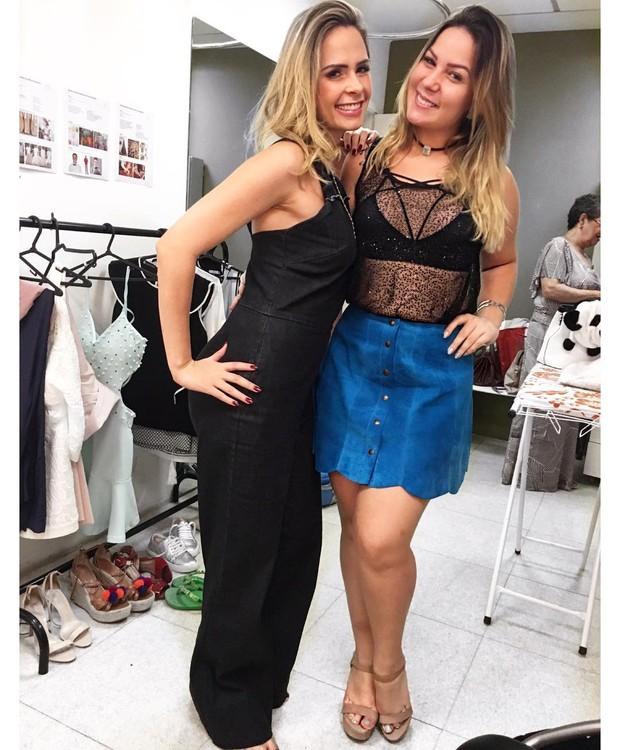 Ana Paula e Cacau (Foto: Reprodução / Instagram)