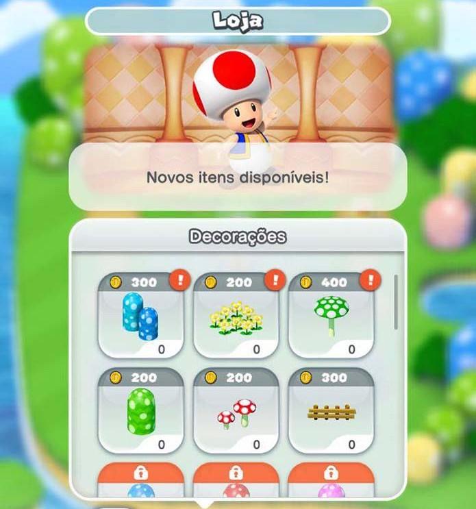 Adicione casas a Mario Run (Foto: Reprodução/Murilo Molina) (Foto: Adicione casas a Mario Run (Foto: Reprodução/Murilo Molina))