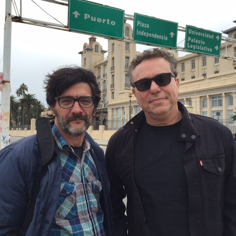 César Troncoso e Paulo Nascimento  (Foto: Arquivo pessoal)