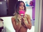 Eu me amo! Famosas usam redes sociais para postar fotos enchendo a própria bola