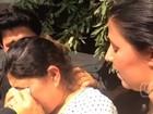 Suspeito de matar namorada depõe, é liberado, e revolta família da vítima