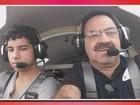 Ventos podem ter colaborado para queda de aeronave em MG, diz polícia