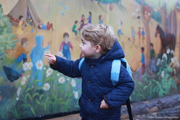 Príncipe George (Foto: Reprodução/Instagram/Kensington Palace)