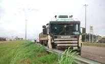 Duas carretas se envolvem em acidente (Carlos Franco/Extra de Rondônia)