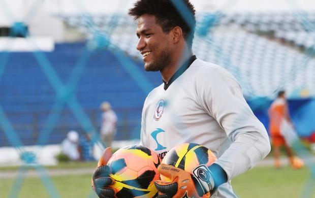 Pantera, goleiro do Campinense (Foto: Magnus Menezes / Jornal da Paraíba)