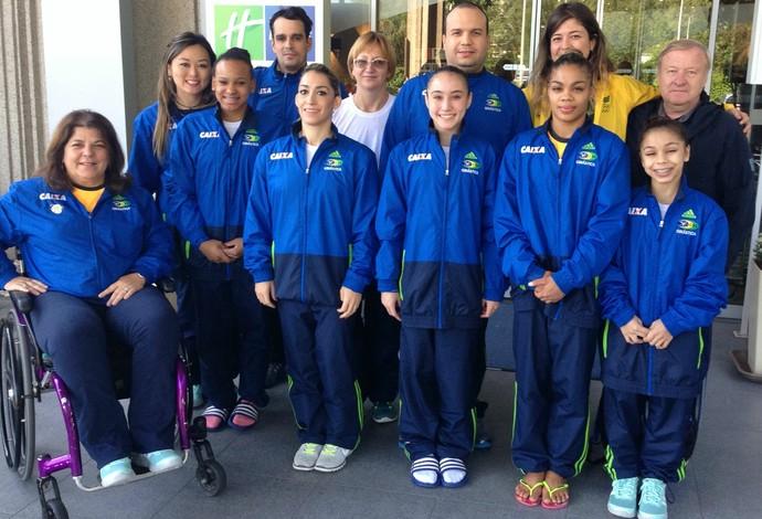 Brasil é bronze por equipes no Flanders International Team Challenge, em Ghent, na Bélgica (Foto: Divulgação)
