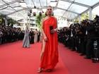 Kate Moss e Toni Garrn usam looks com fendas ousadas em Cannes