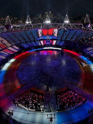 Cerimônia de abertura, Londres (Foto: Agência Reuters)