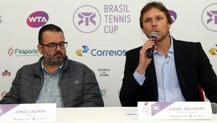 Jorge Lacerda e Rafael Westrupp (Foto: Cristiano Andujar/CBT)