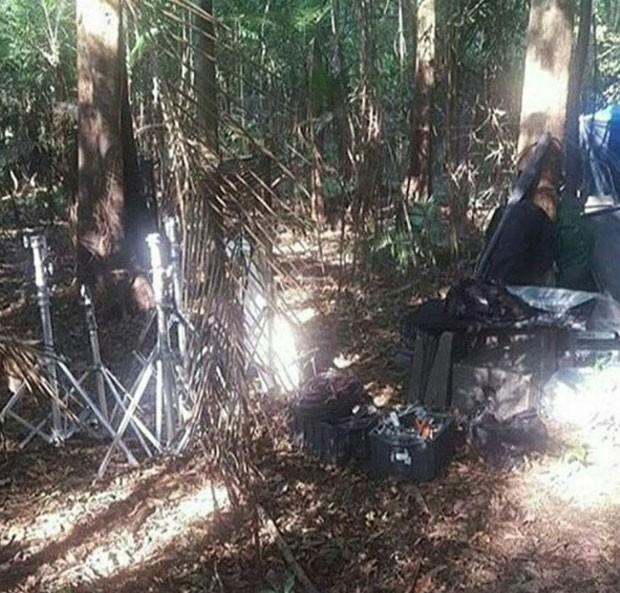 Bastidores da gravação do clipe de Anitta (Foto: Reprodução Instagram)