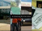 Escolas roubadas, falta de merenda e prisão mostram a educação em 2016