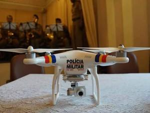 DIV Drone Oliveira (Foto: Polícia Militar/Divulgação)