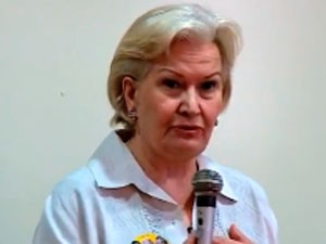 Ana Amélia Lemos - campanha - 9/9 (Foto: Reprodução/RBS TV)
