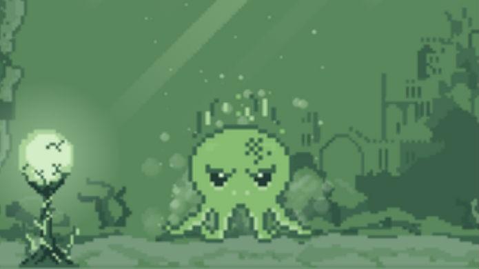 Tamagotchi: Cthulhu ficou fofo em seu game (Foto: Reprodução/Google Play)