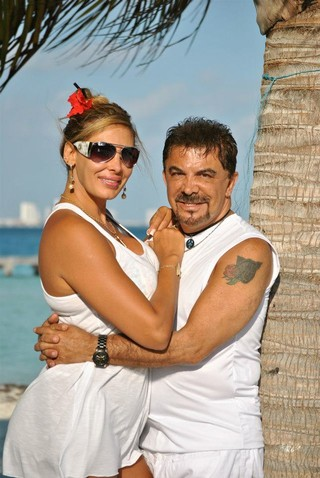 Wagner Moraes e �ngela Bismarchi (Foto: Divulga��o/Divulga��o)