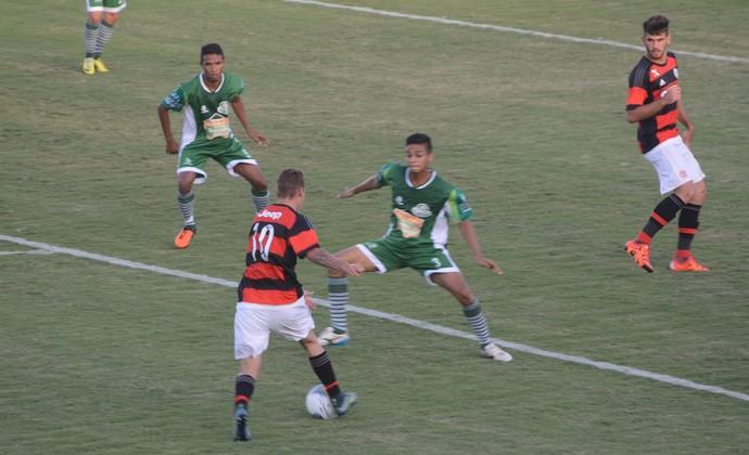 Flamengo x Palmeira-RN Copa São Paulo de Futebol Júnior (Foto: Nicholas Modesto)