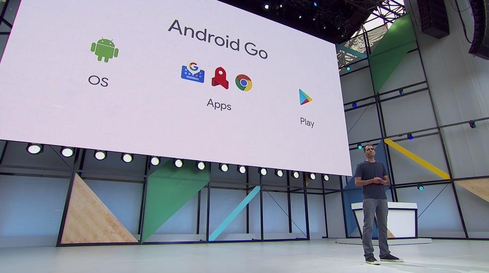 Android Go é o novo sistema do Google para celulares com especificações básicas (Foto: Reprodução/Google)