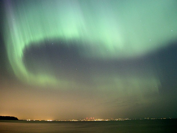 Aurora boreal 3 (Foto: The Star Tribune/Brian Peterson/AP)